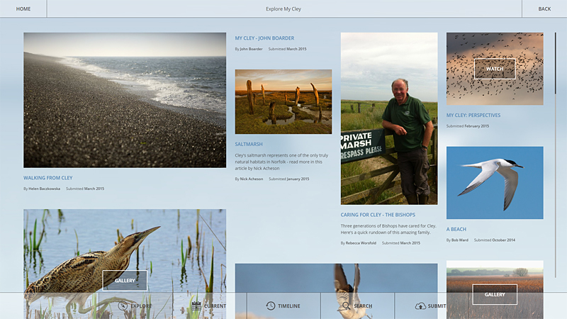 Image for article: NWT Cley Marshes Visitor Centre