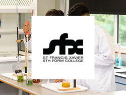 St Francis Xavier 6th Form College logo