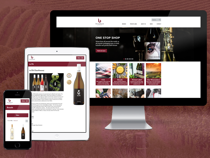 Image for article: Broadland Wineries re-branding